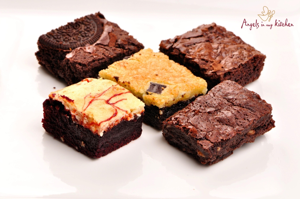 ASSORTED BROWNIES...