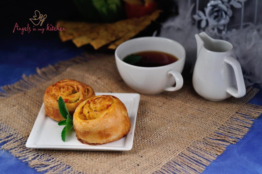 assorted veg danish..