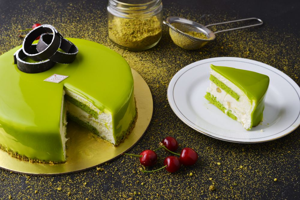 Pistachio Cheesecake 3